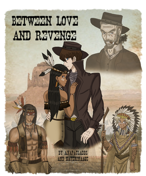 Between Love and Revenge Cover by AnaPaulaDBZ