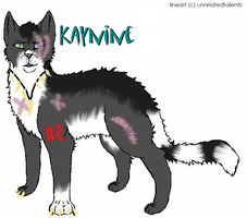 Kaynine-offical reff by FoxHeart23