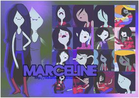 Adventure Time - Marceline by MikamixChan