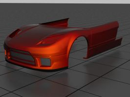 NSX Front, Doors + skirts -WIP by prox3h