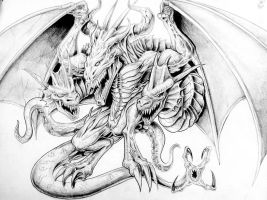 Dragon Tattoo by PTimm