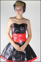 Duct Tape Dress I by Betwixt779