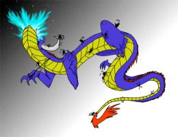 Dragon Fight by camio105