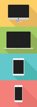 Minimalistic Apple Devices by KevinConsen