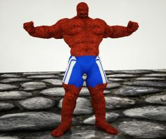 Ben Grimm 2nd skin textures for M4 by hiram67