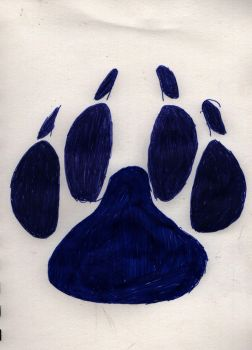 Paw in pen by lectraplayer