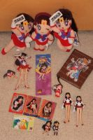 Sailor Mars collection by ZeFrenchM