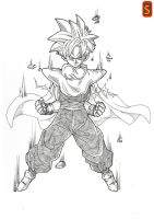 Ready for SSJ2 by bloodsplach