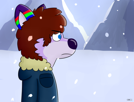 Wodi in the Snow by AygoDeviant