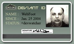 Webfoot ID by WebFoot