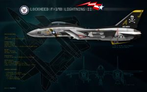 F19B Lightning II - USN VF-84 by danyboz