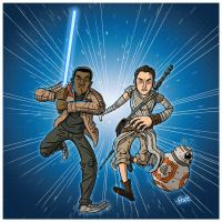 The Force Awakens. by stayte-of-the-art