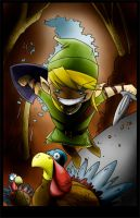 Happy Thanksgiving Link by rolobio