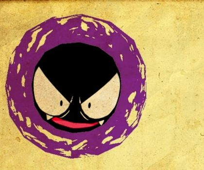 Gastly by cory-corpse