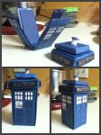 3-D Tardis Card by 87rae