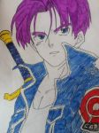 Dragon Ball Z - Trunks by AkvileS