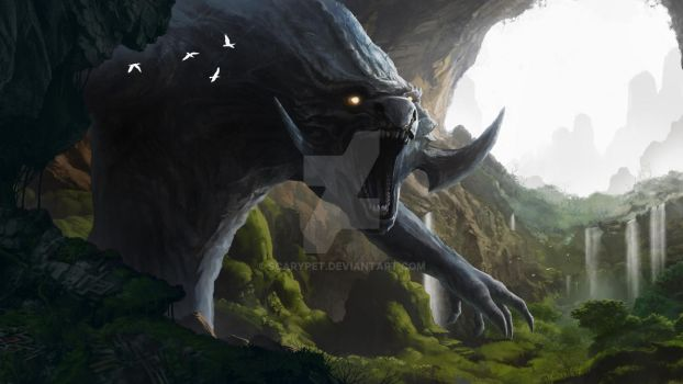 The Troglodyte by scarypet