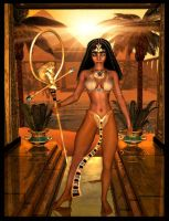 Queen of the Nile by IgnisSerpentus