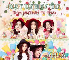 Happy Birthday To Tina by JanePham