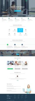 Bromine - Online Learning Platform template by KL-Webmedia