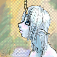 unicorn boy by eilid
