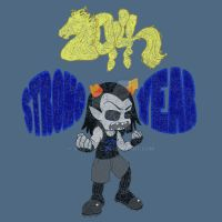 STRONG Year!: Homestuck T-Shirt Contest Design #3 by vampire-L