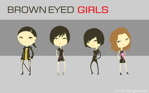 Brown Eyed Girls by Nisharda