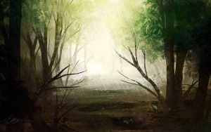Forest Series ~ Raining by Glorious-System