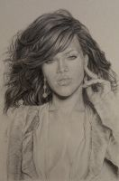 Rihanna by Coquelicotnoir