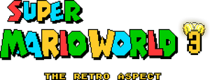 Super Mario World 3 - The Retro Aspect logo by OMGWEEGEE2