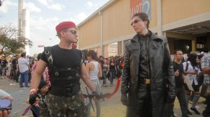 Wesker and Krauser : Staredown by IKevinXSer