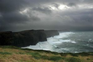 cliffs of moher by cyby1978