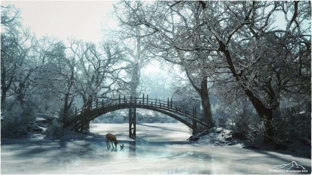 Best Friends by 3DLandscapeArtist