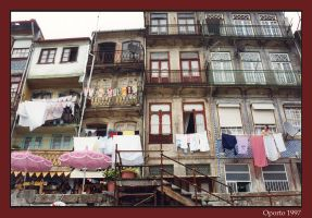Houses of Porto by rhipster