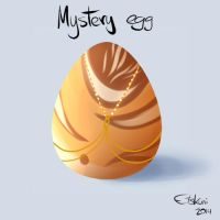 Mystery Egg Adoptable #1 CLOSED by Etskuni