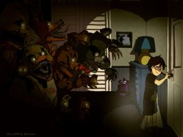 FNAF -We are your friends by PhyroNite