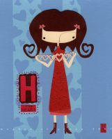 H is for Heart by renton1313