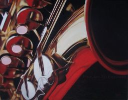 Red Hot Sax by KMAP3156