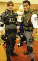 Leon S. Kennedy  / Chris Redfield - Resident Evil by RobotRubberDucky