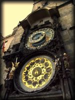 Prague Astronomical Clock by Fllippy