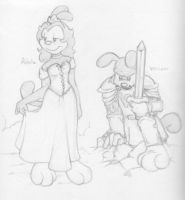 Adela and William sketches by LittleTiger488