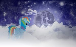Epic Rainbow Dash Wallpaper by AlexOrangel
