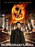The Hunger Games/Supernatural poster by Borntobewyld