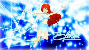 MMD WC - Bloom Magic Winx DL by Pura-Luce