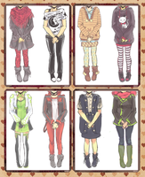 REV: [Meiri]Old Concepts + Outfits by Neririn