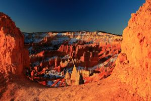 Stock: Window into Bryce Canyon by Celem