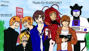 Thanks for 10,000 hits by JdeeChan