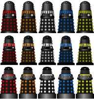 Alternate Universe Dalek's by DoctorWhoOne