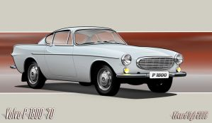 Volvo P 1800 '70 by dr-phoenix