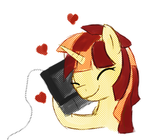 Pixel really loves her baby by thetriforcebearer